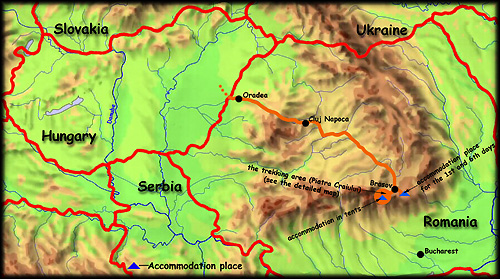'Pearl of the Carpathians' map - click to zoom